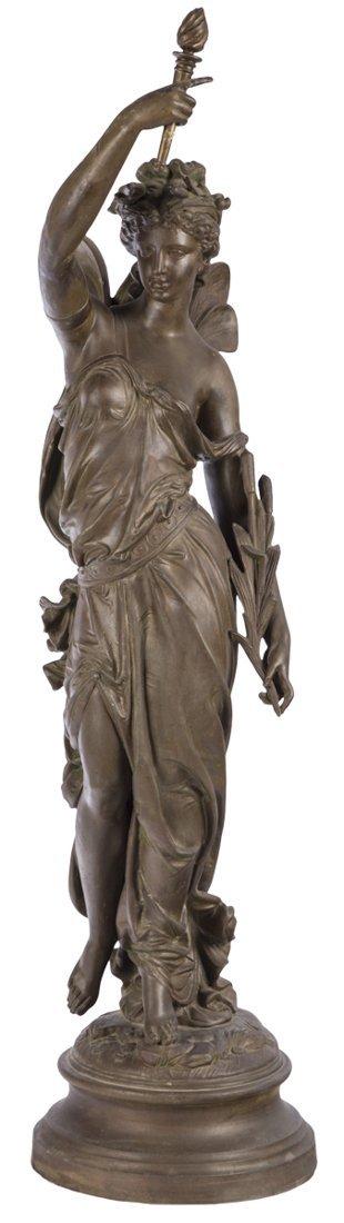 | Scultura in bronzo del XIX secolo | A bronze Nymph