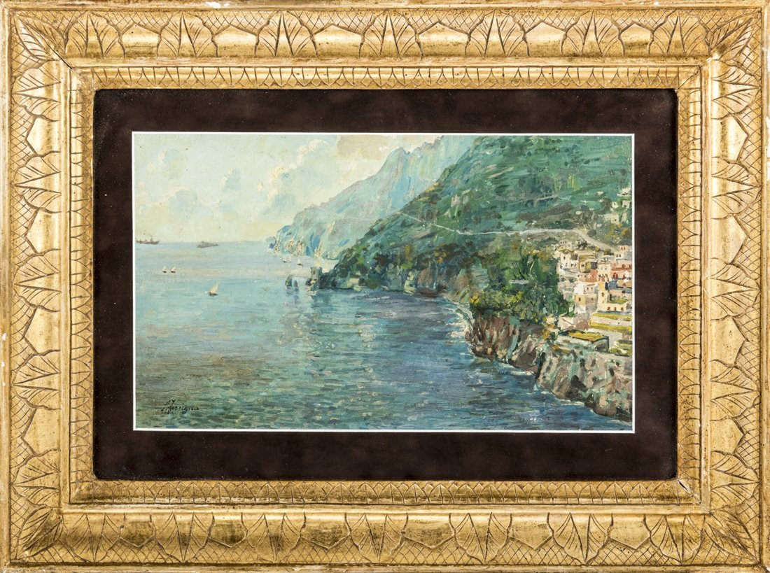 Antonio Ferrigno (Maiori 1863, Salerno 1940) | Costiera