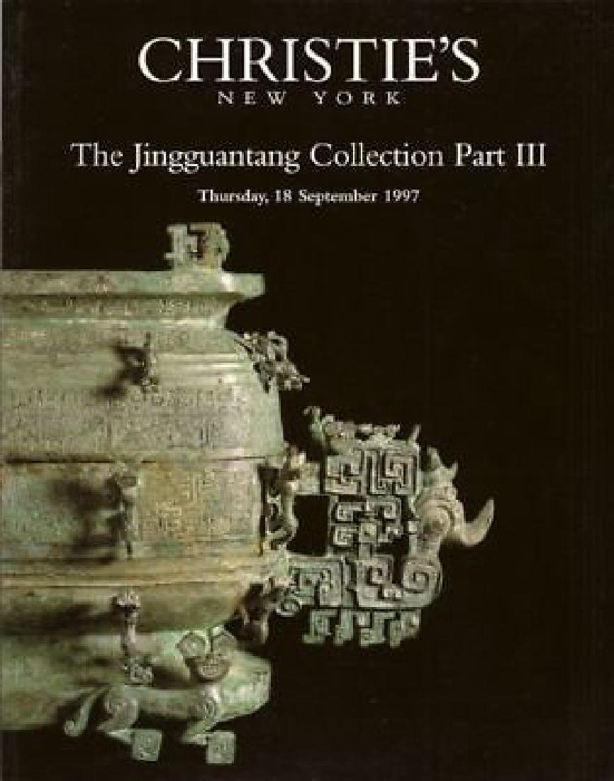 Christies. The Jingguantang Coll. Part III Catalogue
