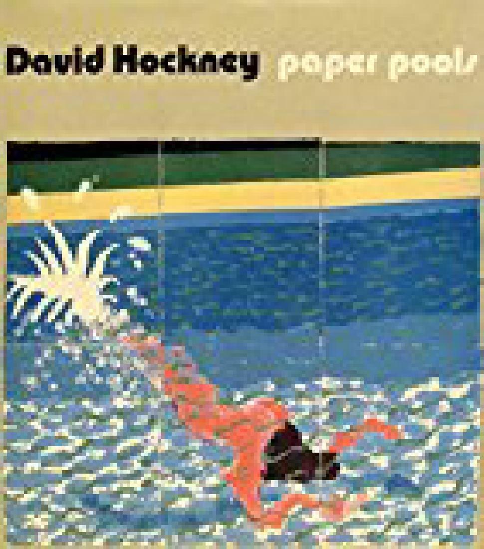 "Hockney, David. ""Paper Pools"""