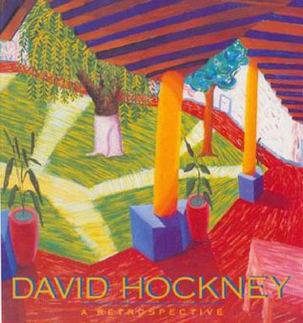 Hockney, David. -A Retrospective. Signed.