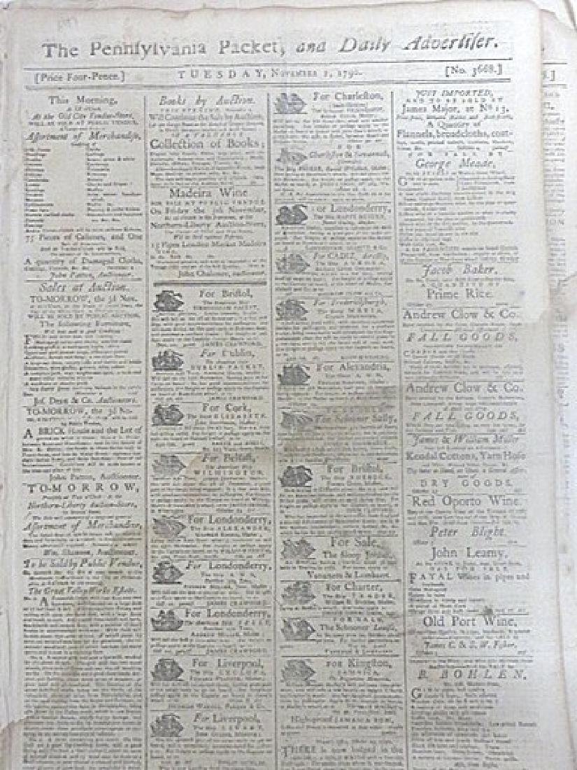 Pennsylvania Packet, & Daily Advertifer 1787-1790(4)