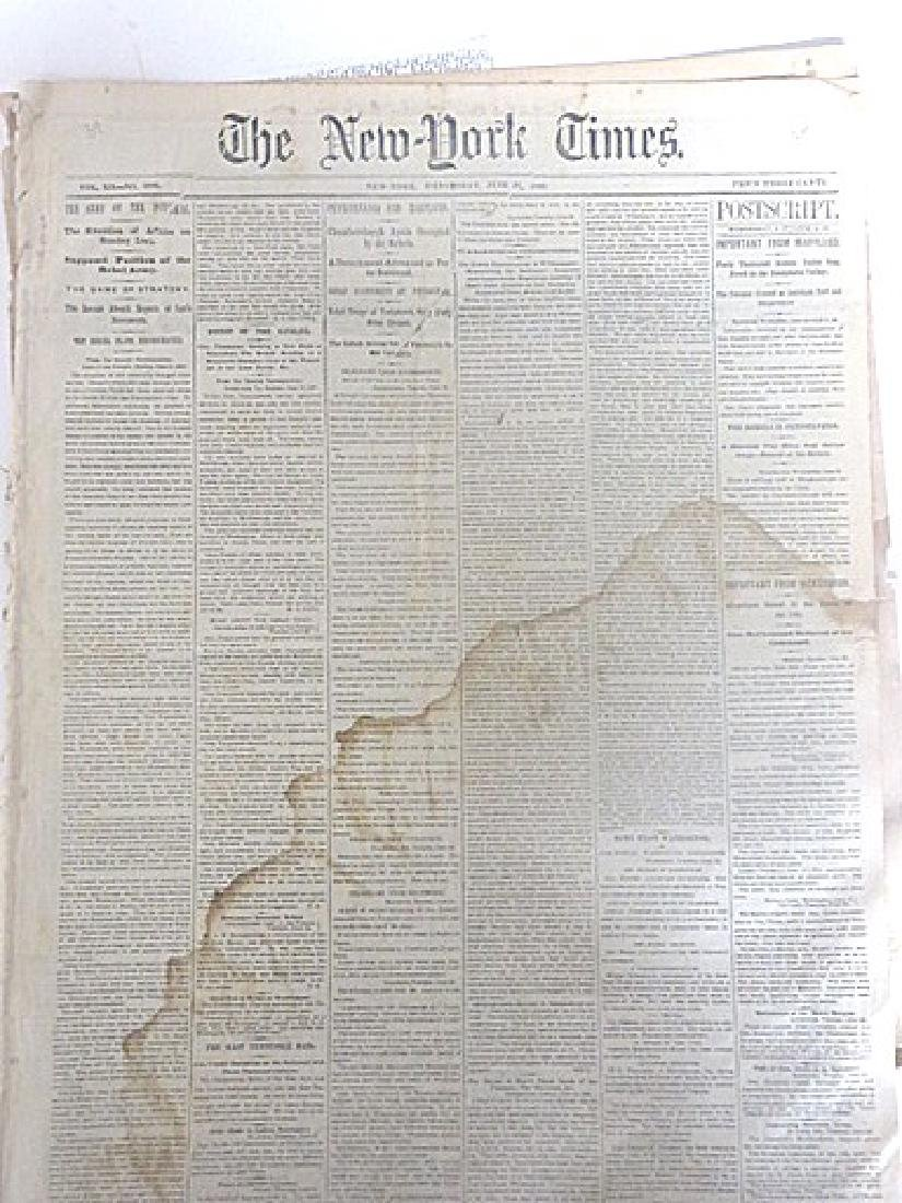 The New  York Times. 1863 (2)
