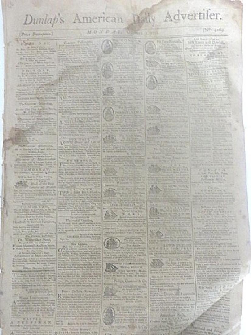 Dunlap's American Daily Advertifer 1792