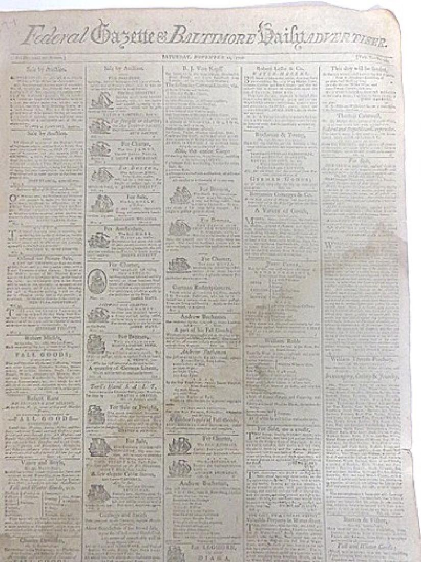 Federal Gazette and Baltimore Daily Advertiser. 1796