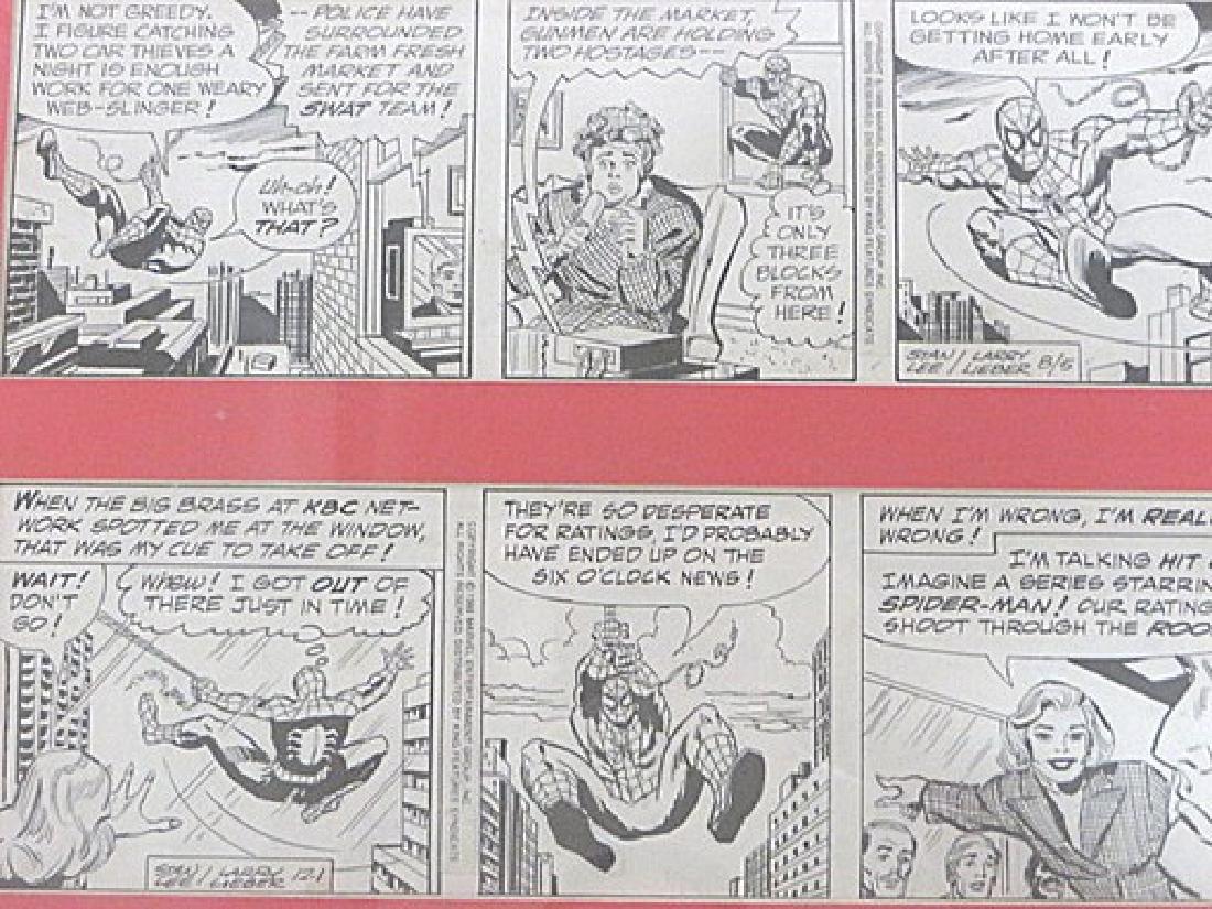Original Drawings for Cartoon Strip Amazing Spiderman - 2