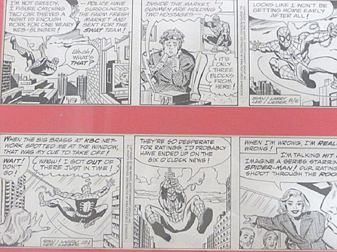 Original Drawings for Cartoon Strip Amazing Spiderman - 2