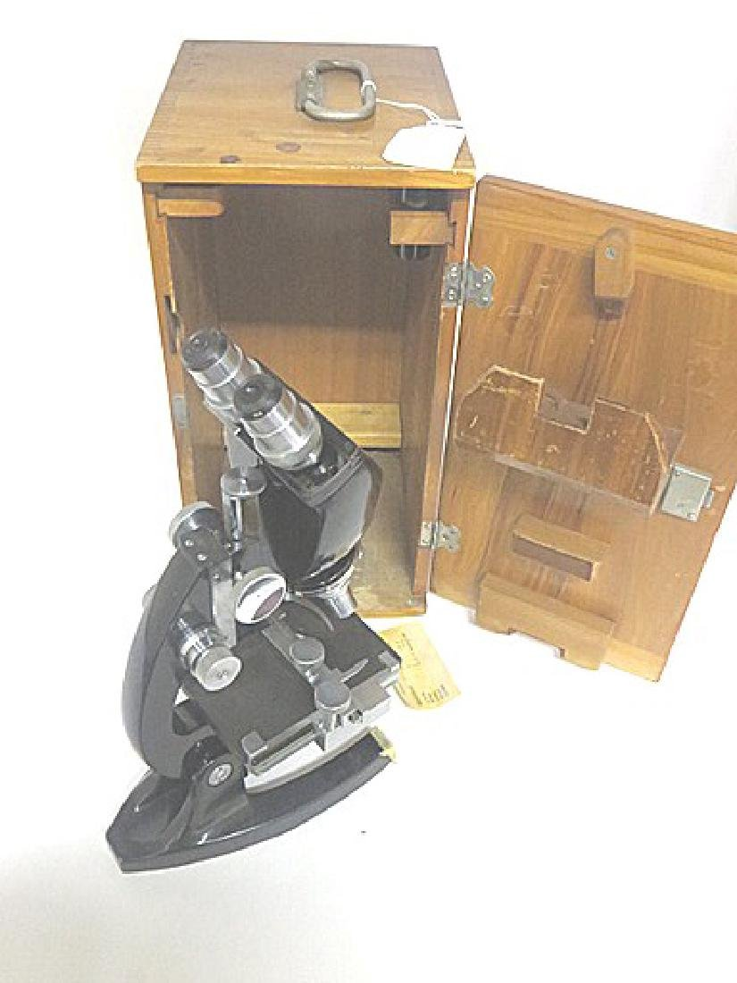 Antique Microscope in Case - 2