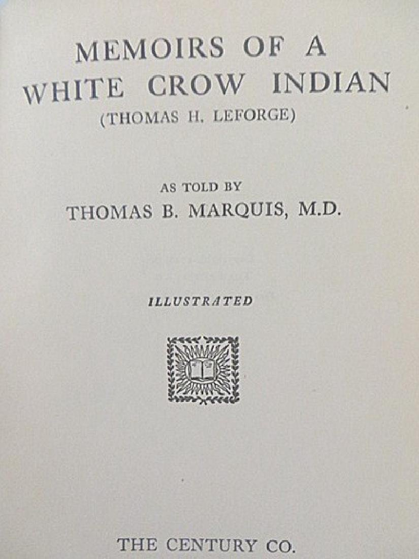 Marquie. Thomas. Memoirs of a White Crow Indian