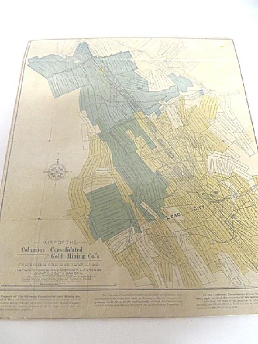 Map Columbus Consolidated Gold Mining Co. - 2