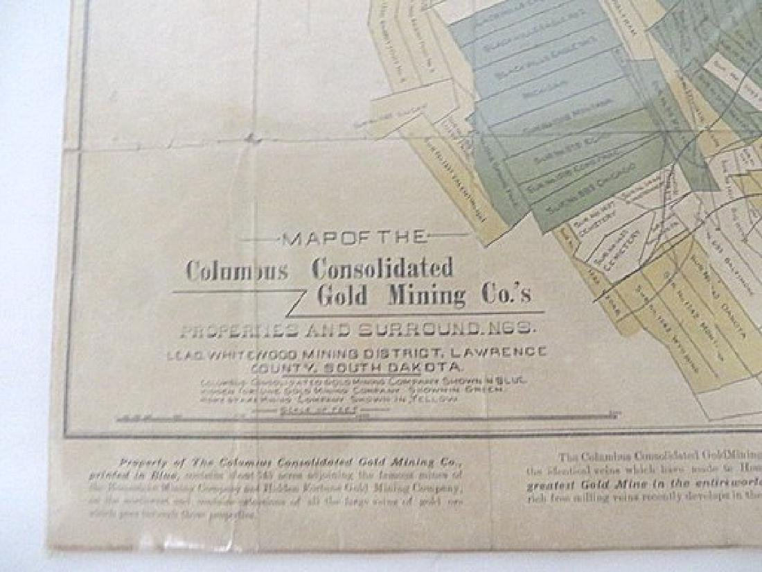 Map Columbus Consolidated Gold Mining Co. - 3