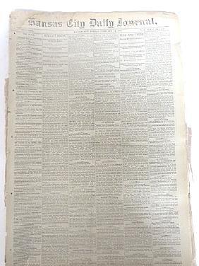 19th C. Newspaper Lot Inc. American Railway Times (13)