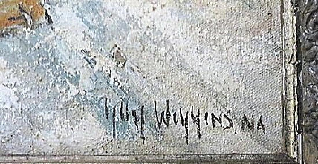 Guy Carleton Wiggins. Attr. to . Oil. NY Street Scene - 3