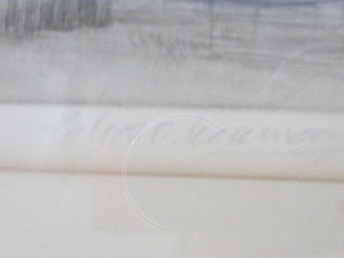 C. O. Murray. Original Engraving. Signed - 3