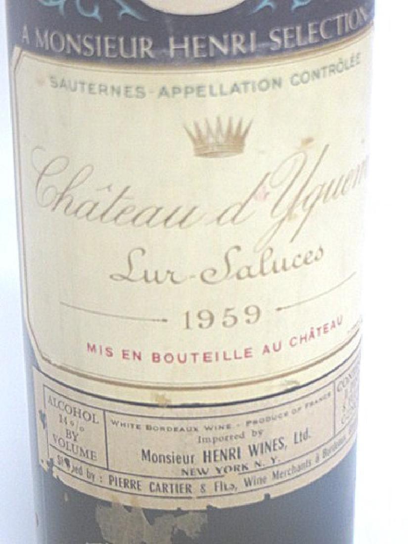 Rare Wine. Chateau d'Yquem 1959 - 2