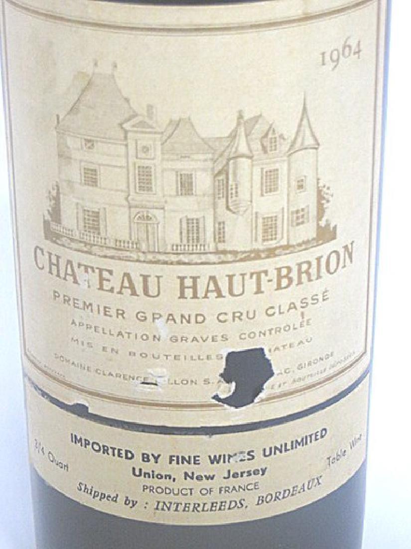 Rare Wine. Chateau Haut Brion 1964 - 2