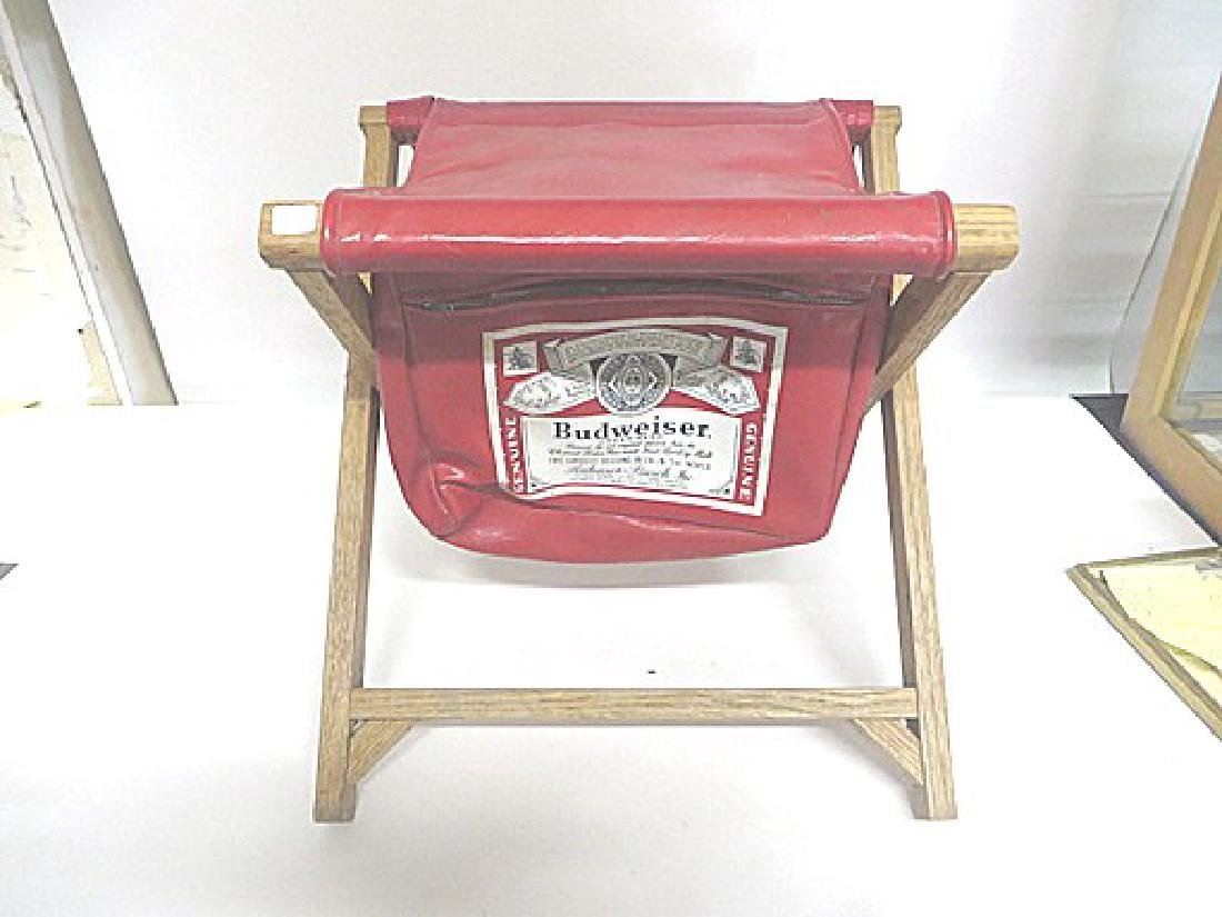 Budweiser Advertising Folding Stool
