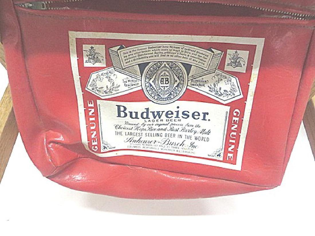 Budweiser Advertising Folding Stool - 2