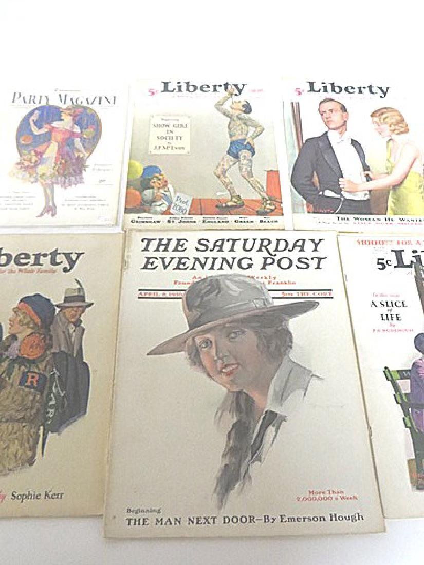 Antique Magazines Liberty & Saturday Eve.  Post - 2