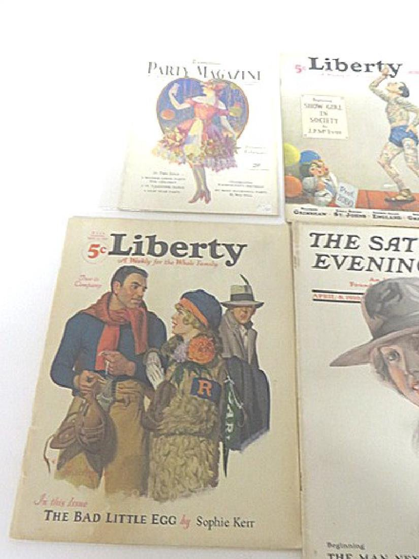 Antique Magazines Liberty & Saturday Eve.  Post - 3