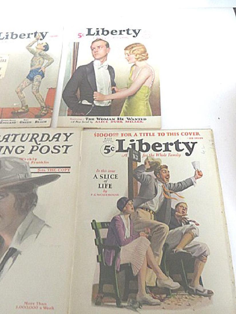 Antique Magazines Liberty & Saturday Eve.  Post - 4