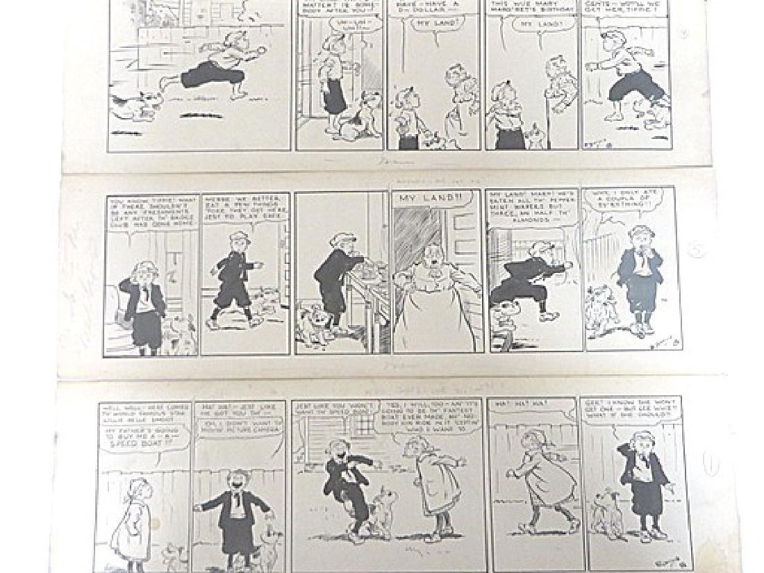 Edwina Dumm. Pen & Ink. Orig. Cartoon Strips. Sgd. (6)