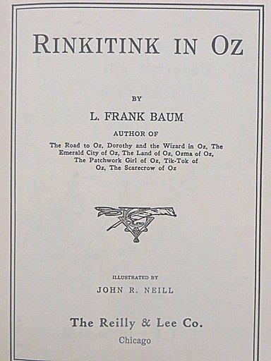 L. Frank Baum. Rinkitink in Oz. First Edition. Illus. - 5