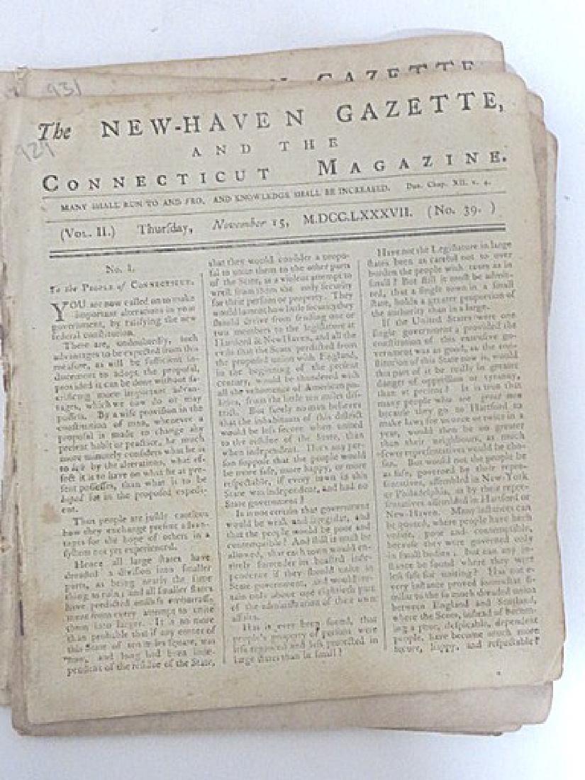 New Haven Gazette, & the Connecticut Magazine (7) - 2