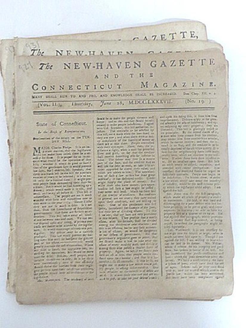New Haven Gazette, & the Connecticut Magazine (7) - 3