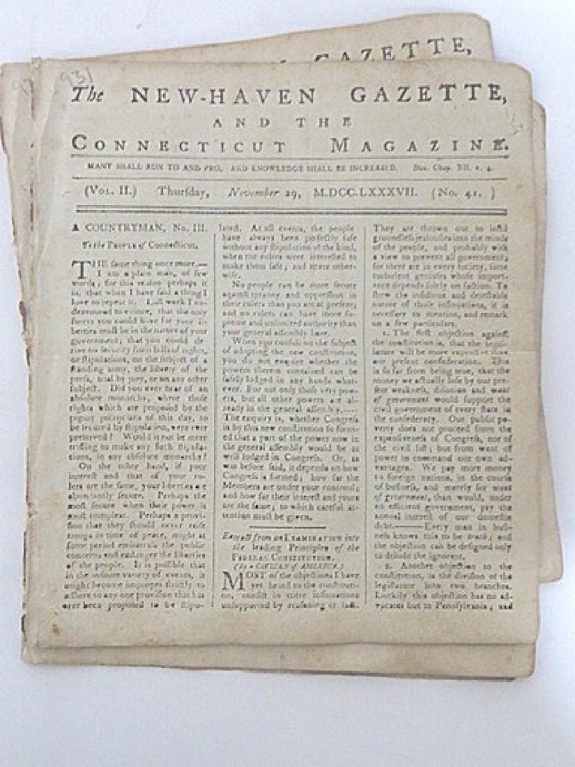 New Haven Gazette, & the Connecticut Magazine (7) - 4