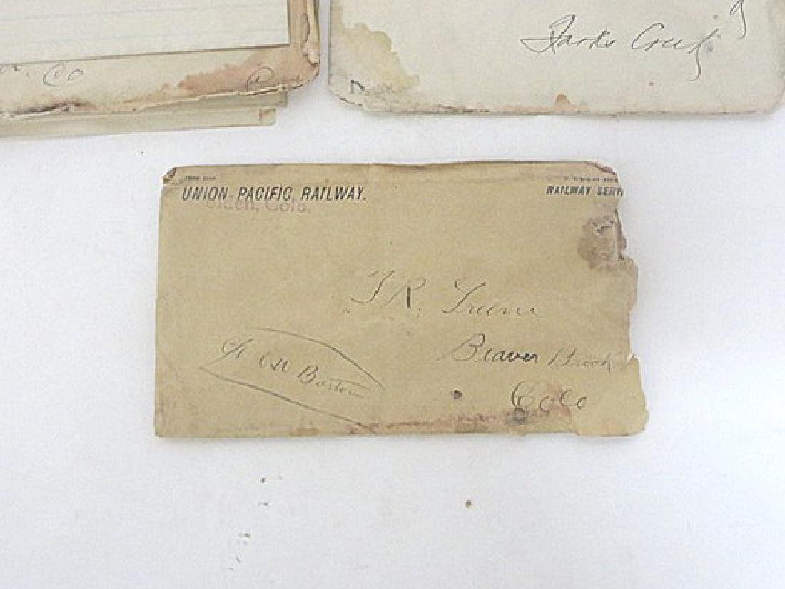 19th C. Western Letters, Receipts and other Ephemera - 2