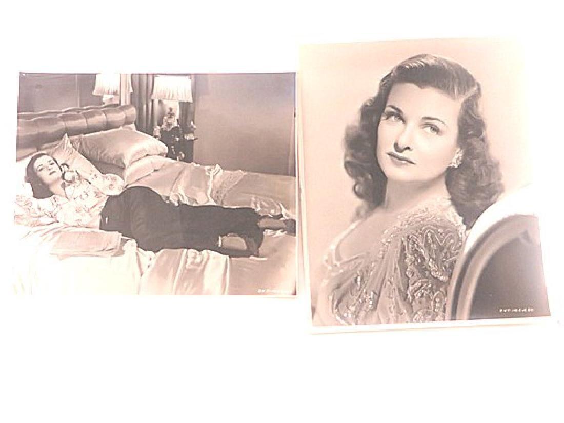 Joan Bennet Linen Backed Photographs (2)