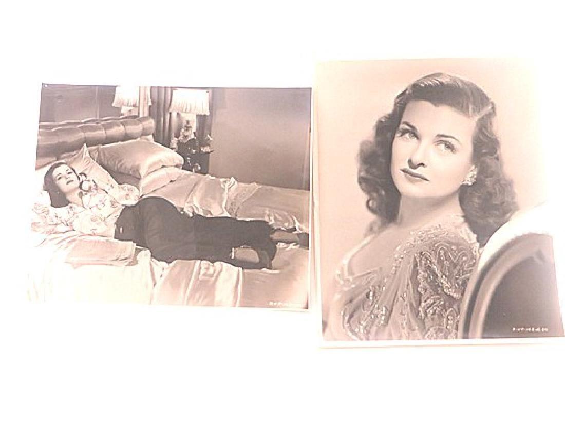 Joan Bennet Linen Backed Photographs (2) - 2