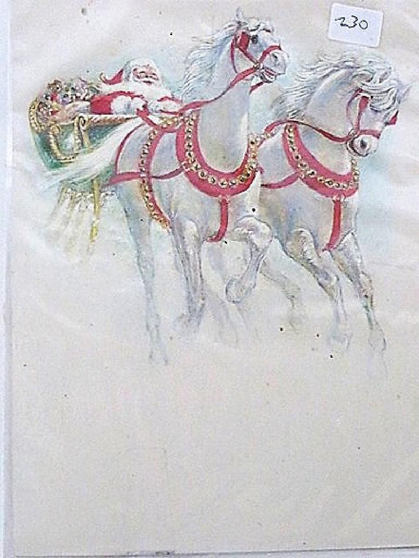 Original American Illustration Martignette Collection