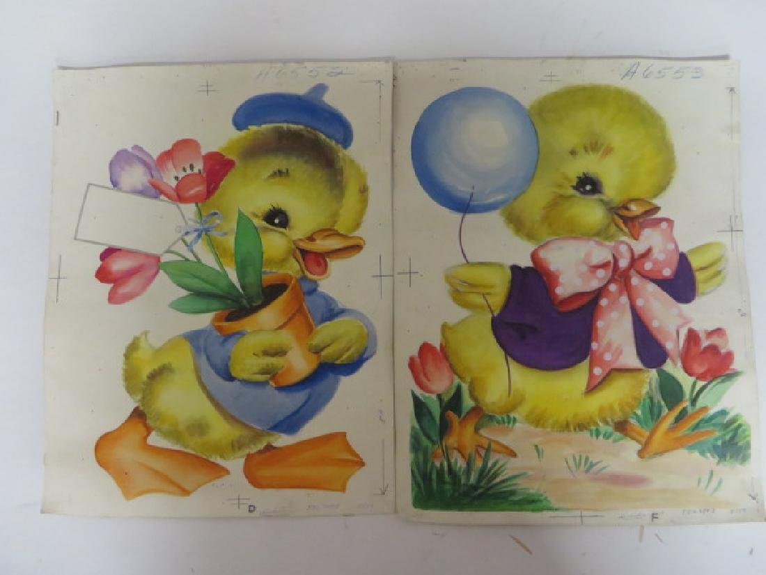 Original American Illustrations for Easter. (2)