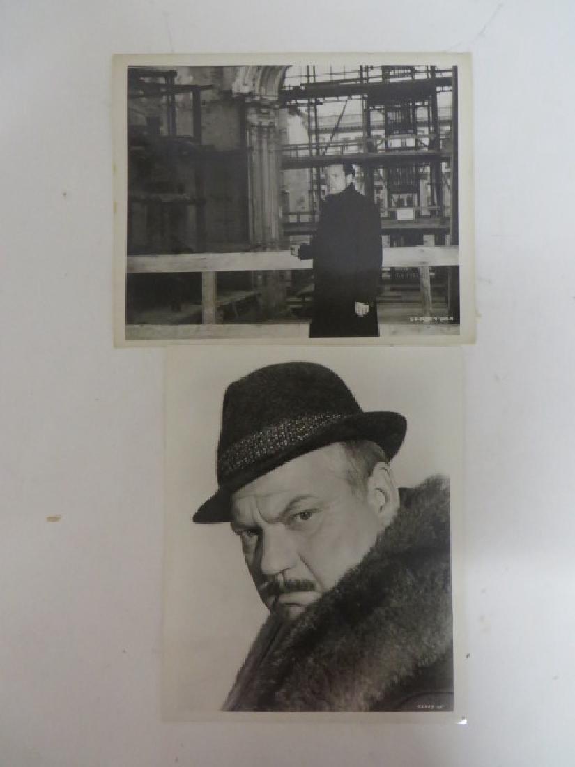 Orson Welles Publicity Photographs (2)