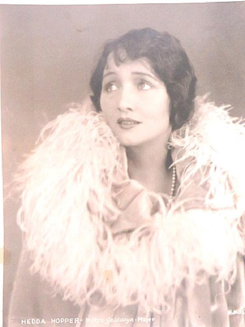 Hedda Hopper Early MGM Portrait