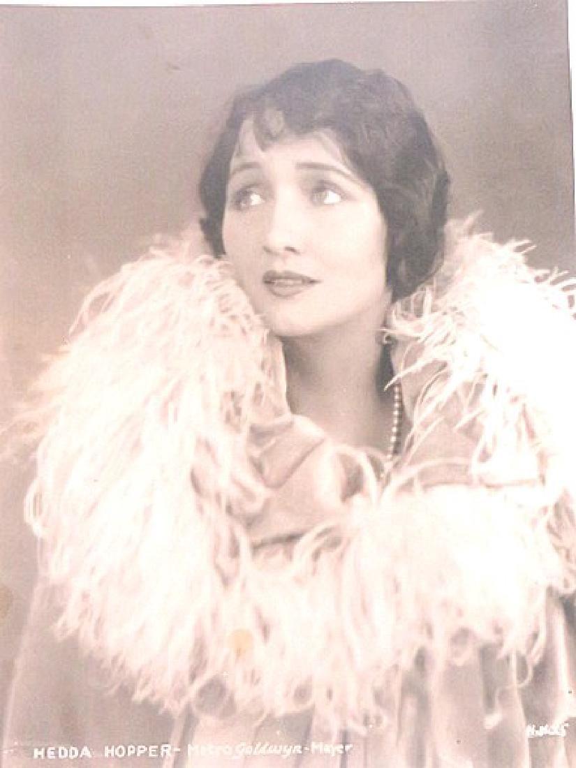 Hedda Hopper Early MGM Portrait - 2