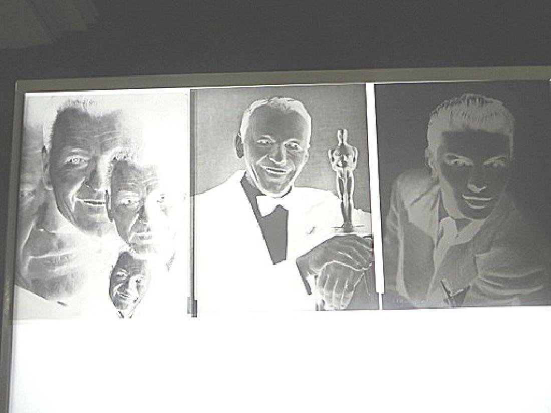 Frank Sinatra Original Portrait Negatives  (6)