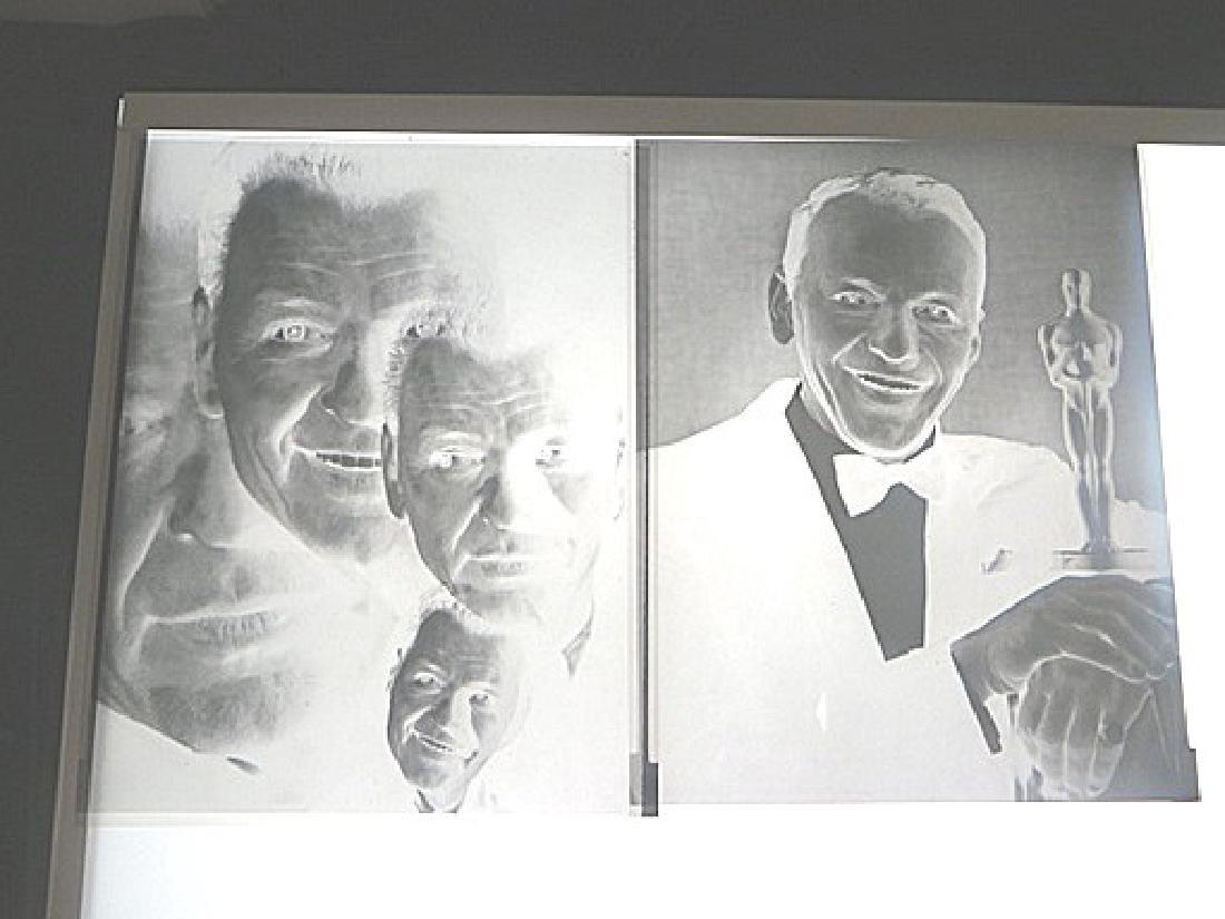 Frank Sinatra Original Portrait Negatives  (6) - 2