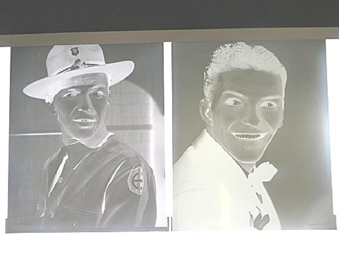 Frank Sinatra Original Portrait Negatives  (6) - 4