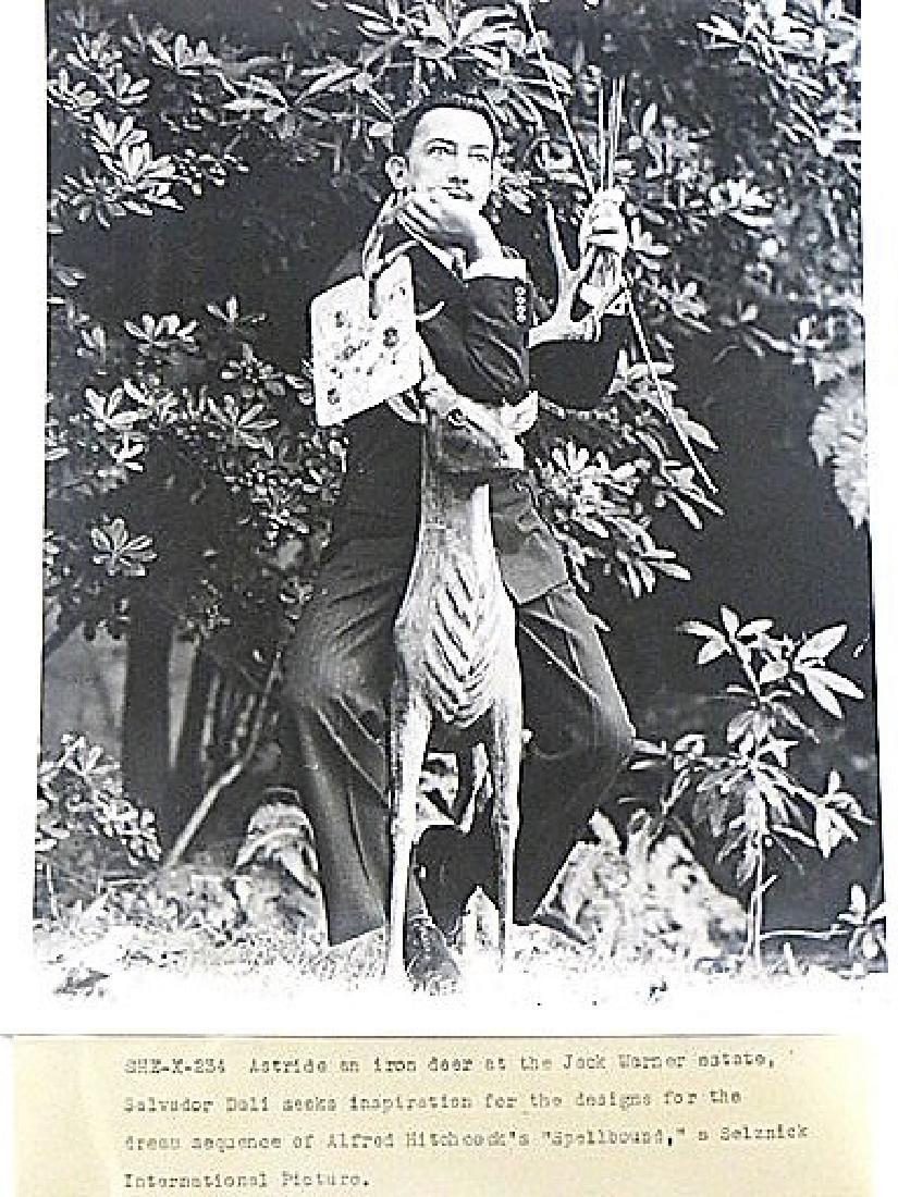 Rare Salvadore Dali Photograph