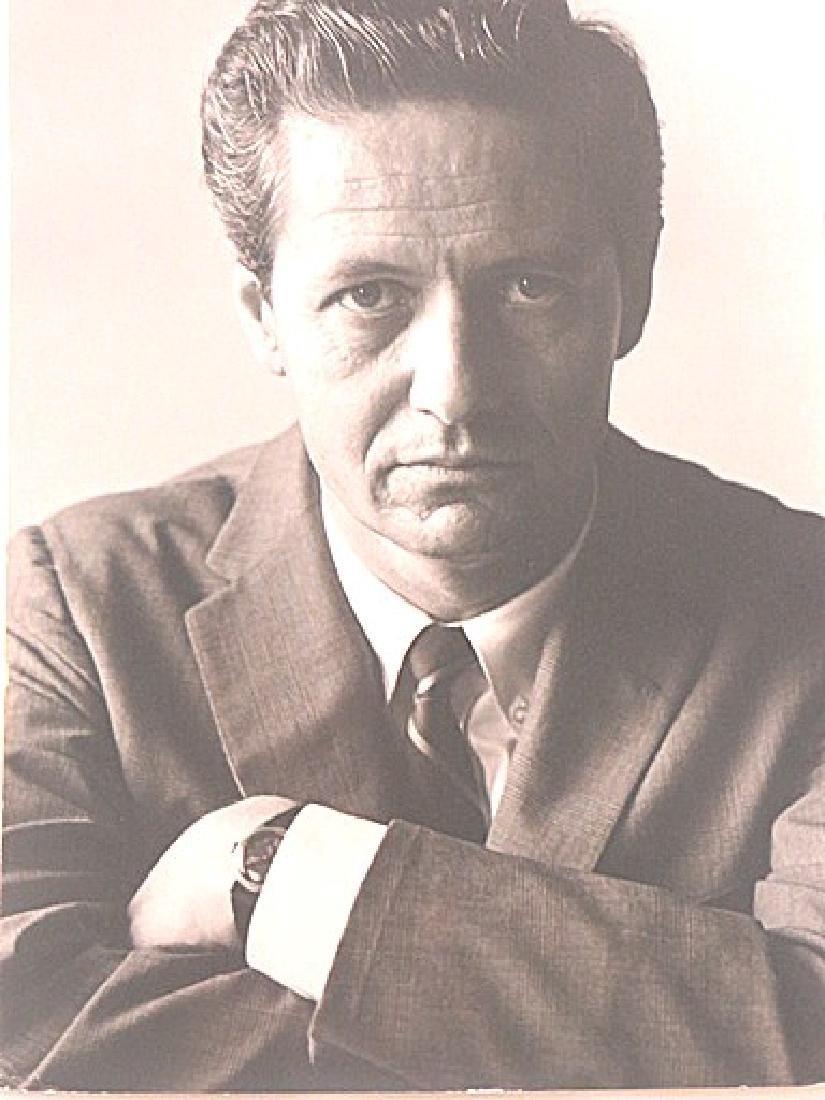 Roddy McDowell Photograph of Arthur Hill