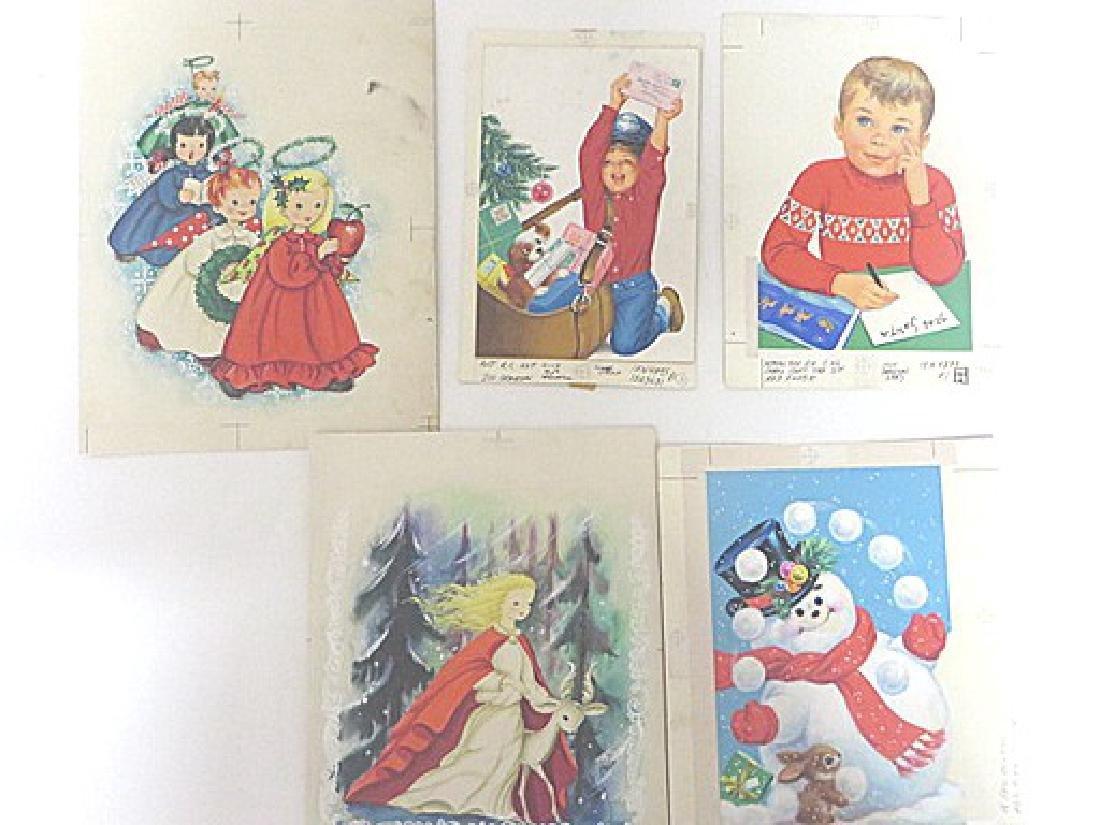 Original Illustrations for Norcross. Martignette Coll.