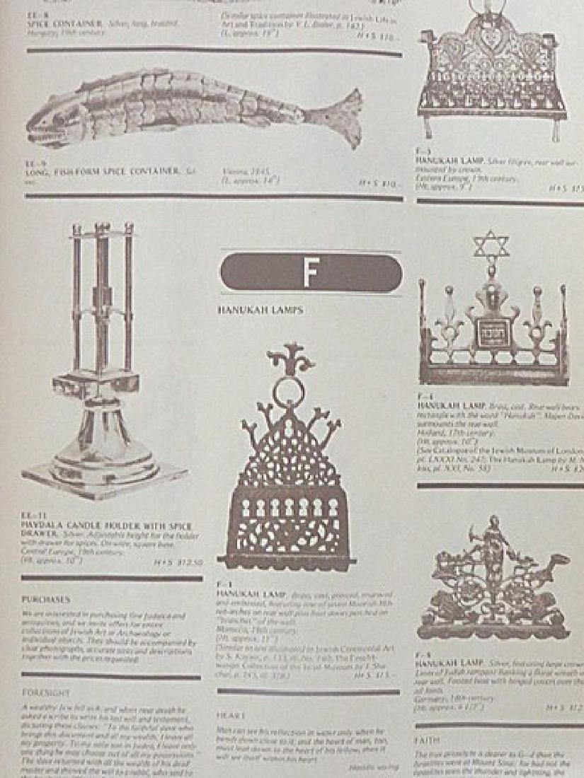 Rare Judaica Antiquities Catalogues. (2)