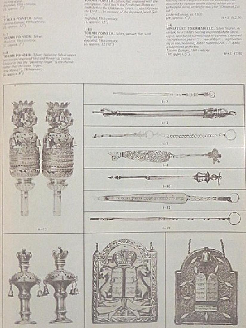 Rare Judaica Antiquities Catalogues. (2) - 2