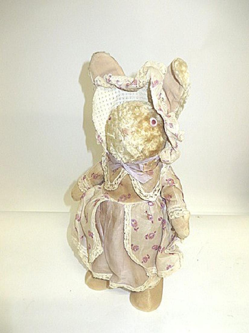 Vintage Straw Stuffed Bunny