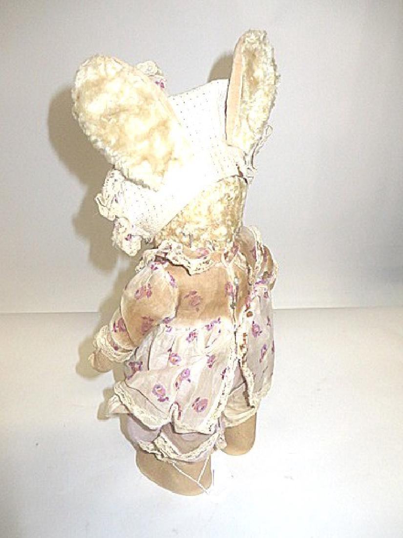 Vintage Straw Stuffed Bunny - 2