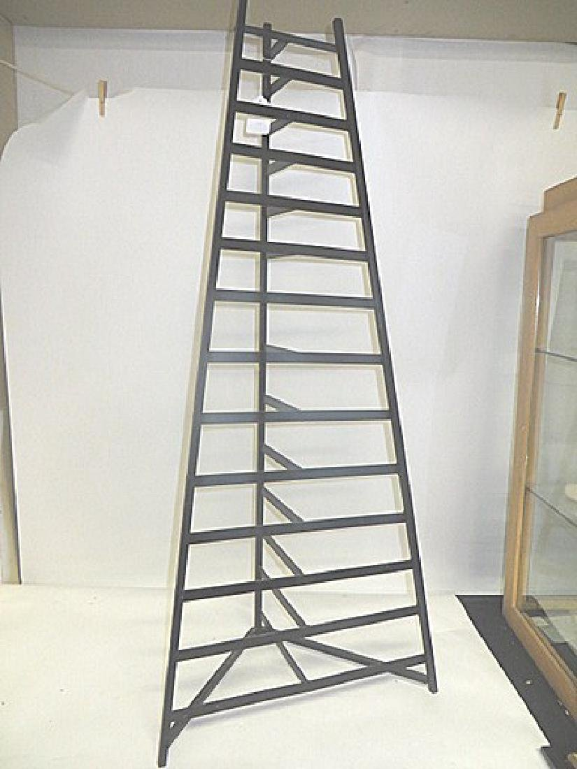 Cast Iron Collector's Rack for Lids - 2