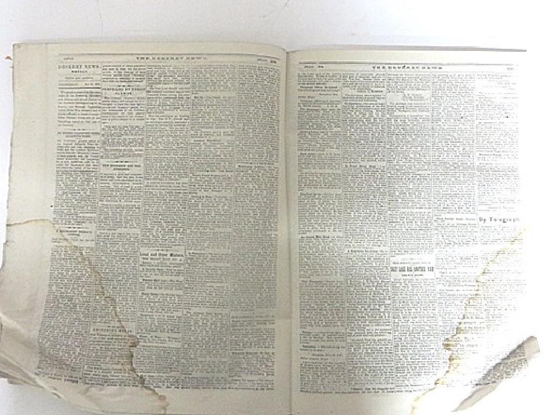 Antique Newspaper Lot  1835-1887 (6) - 2
